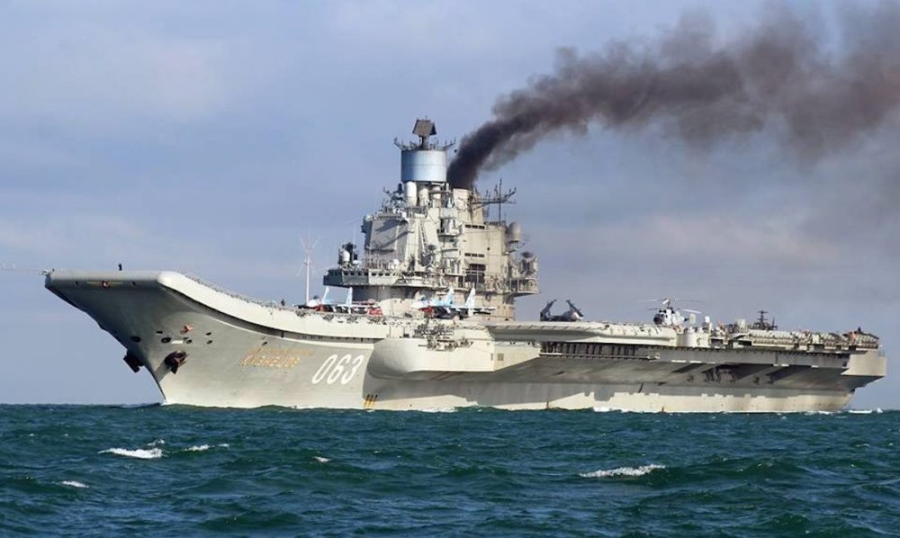 Russia's Aircraft Carrier