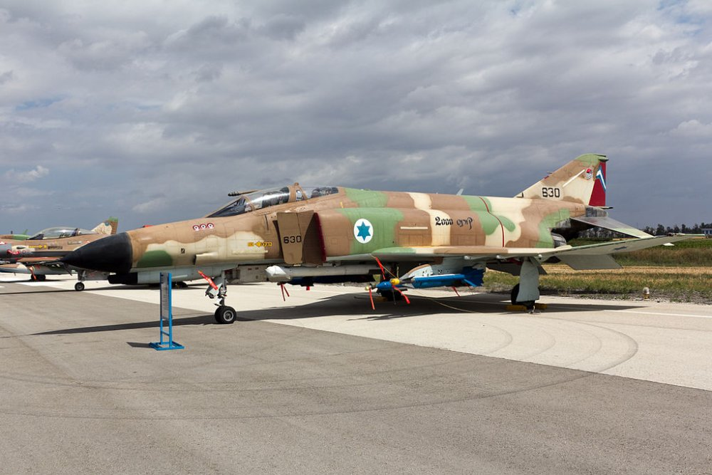 The spy planes that Israeli F 4 Phantom fighters were never