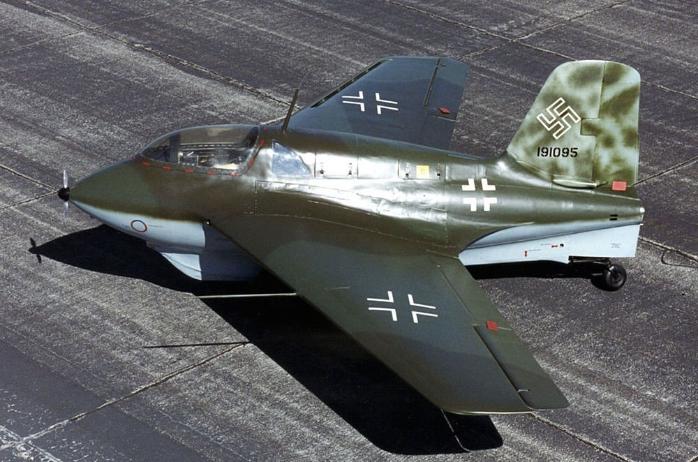 The Super Scary Legend of Nazi Germany's Me-163 Rocket Fighters