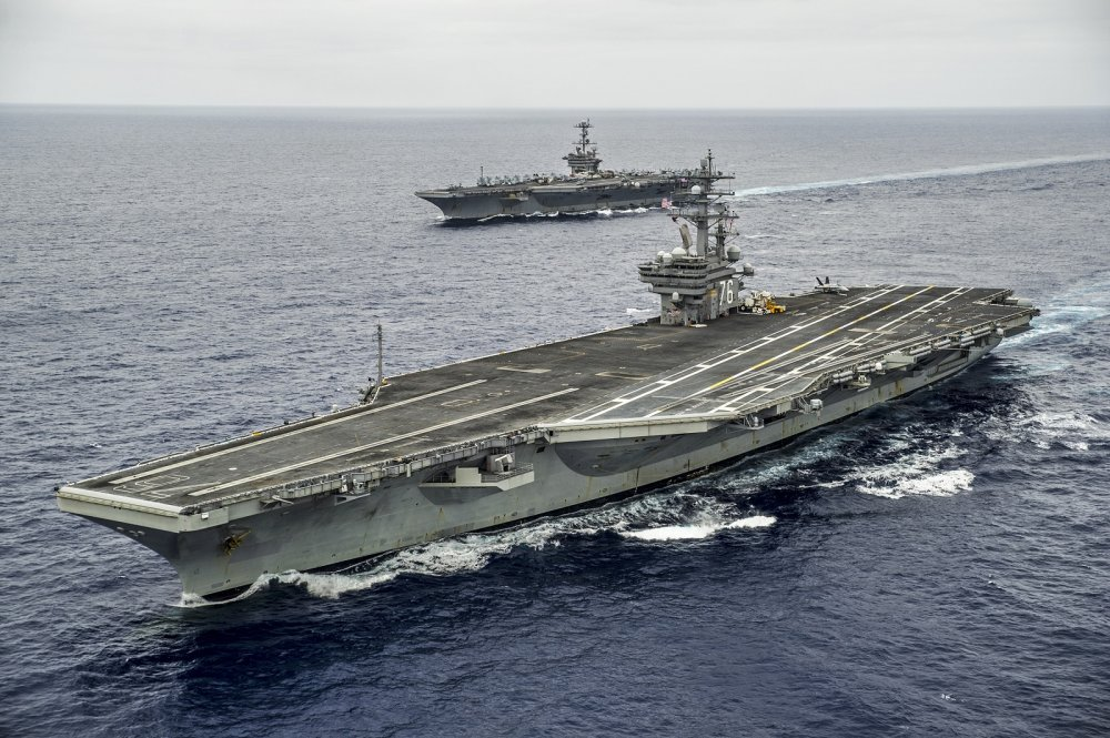 There Might Be Only 1 Thing That Can Sink a U S  Navy