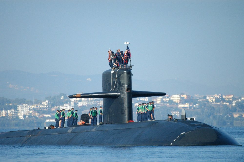 In 1992, A Navy Submarine Was Struck by a Russian Sub in a