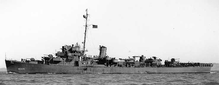 This Tiny U S  Navy Warship Sank the Most Submarines in