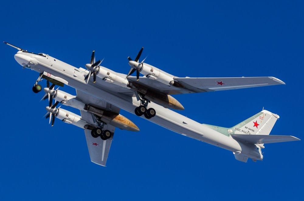 Tu-95 Bear: Meet the Old Russian Bomber U S  F-22s Just