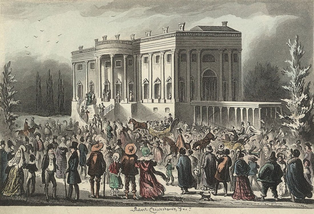 In 1829, the Craziest Presidential Inauguration in History (The President  Escaped from a Window) Went Down