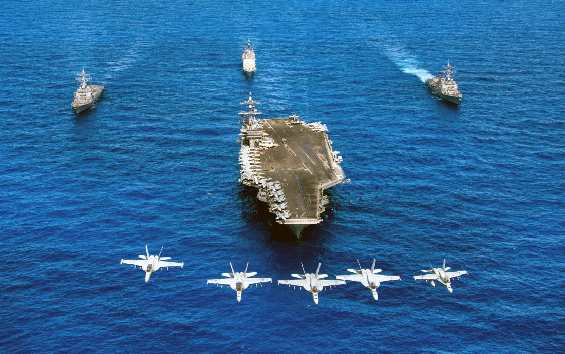Why It's Time for the Carrier Battle Group | The National ...