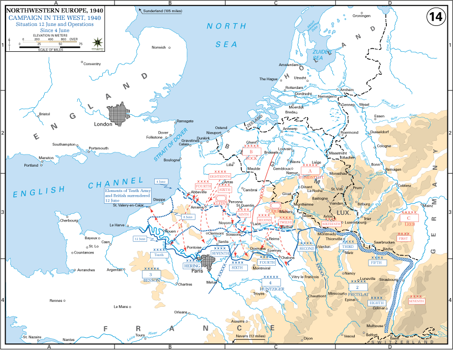 Map Of France 1940.Hitler S Worst Nightmare What If France Had Kept Fighting In 1940