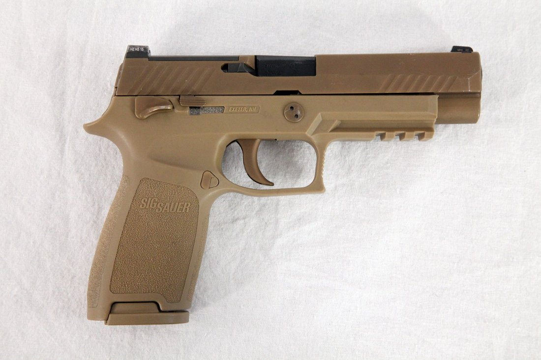 the army is getting new sig sauer guns and deadly ammo to match