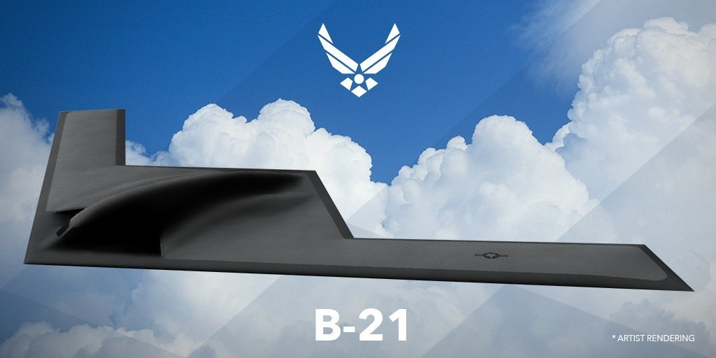 could the air force end up with 200 new b 21 stealth bombers the