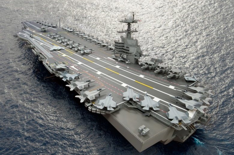 Image result for ford class carrier