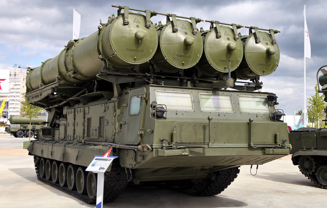 Syria has received a division of anti-aircraft missile system S-300 59