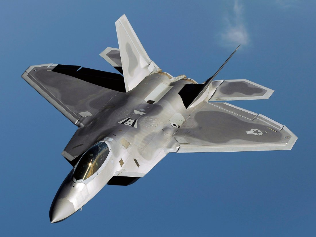 stealth f 22 raptors are in europe with one goal in mind deter