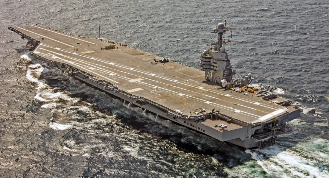 Is America's Most Deadly Aircraft Carrier Ever in Trouble ...  Is America'...