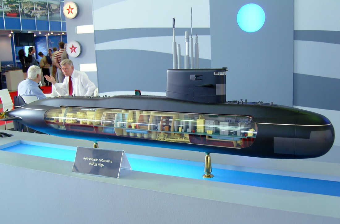 Submarine Kronstadt of Project 677 launched 4