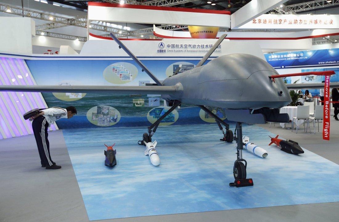 الاردن يعرض بيع 6 درونات صينيه نوع CH-4B  RTX13YS2
