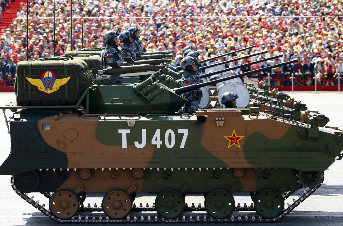 Peoples Liberation Army: Chinese Armed Forces At A Glance  China Armed Forces