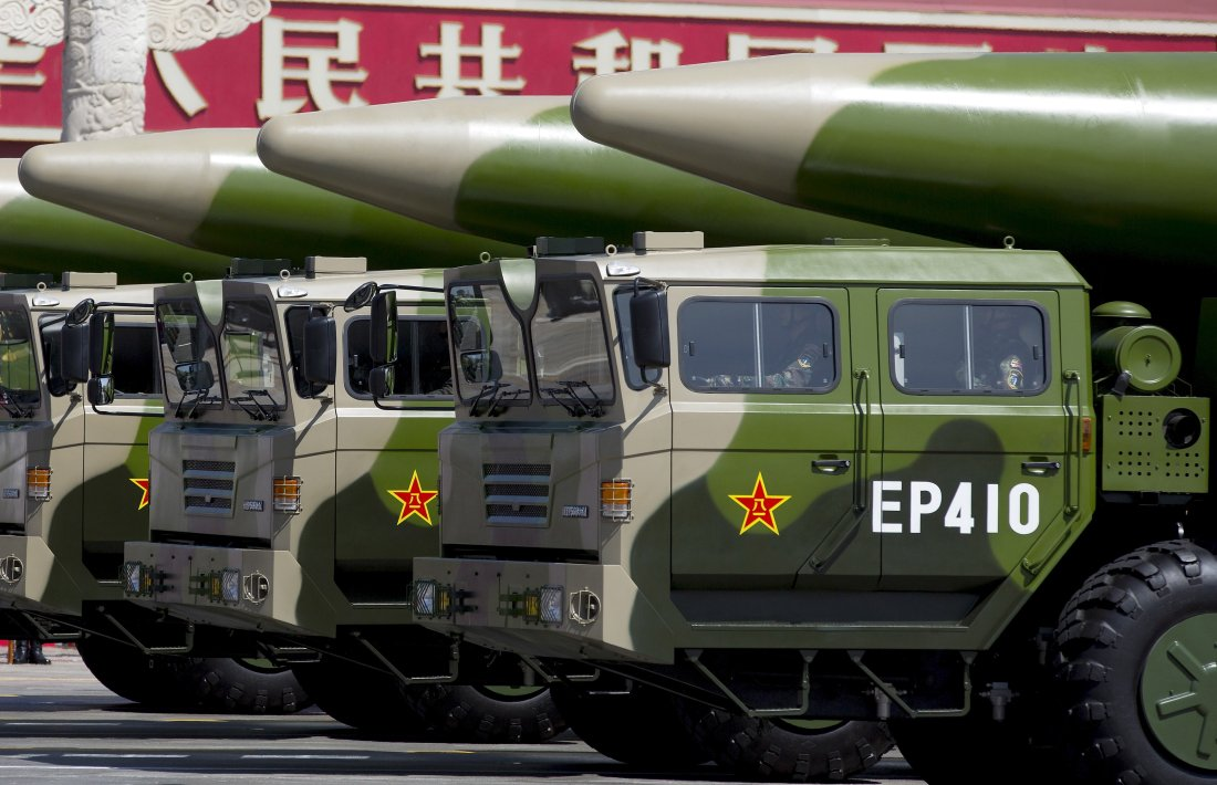 China tests ballistic missile amid tensions with US