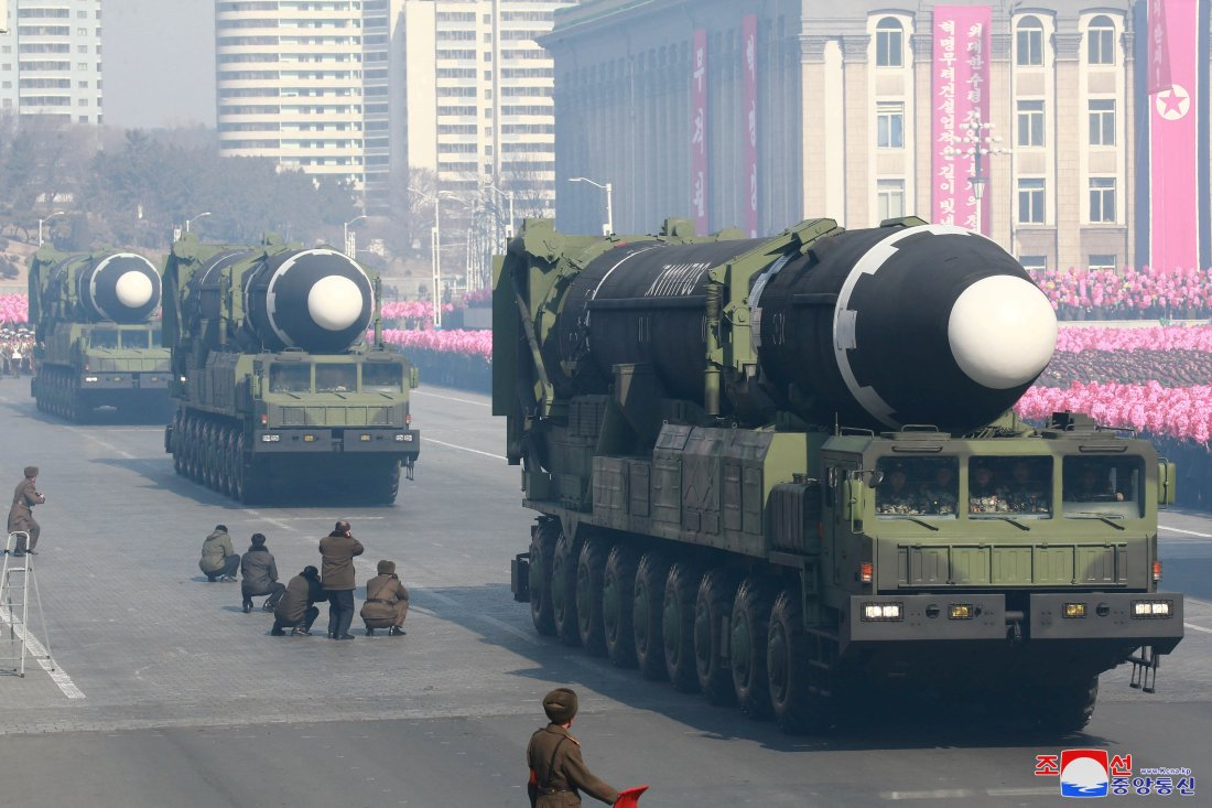 Image result for north korea nuclear weapons