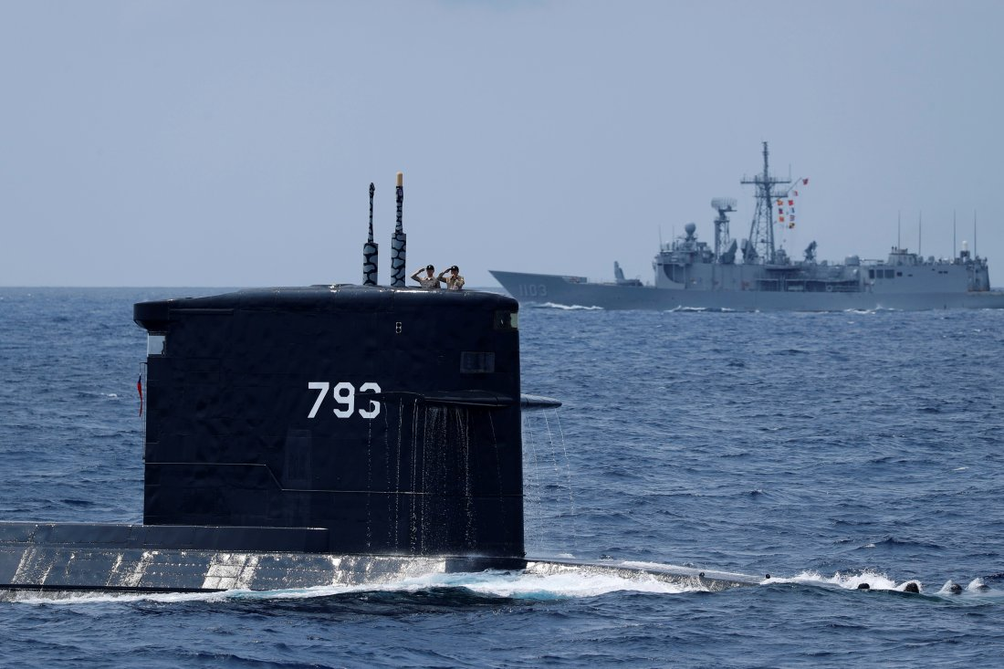 c1b5ddcd375 Why New Submarines Alone Won t Save Taiwan from China