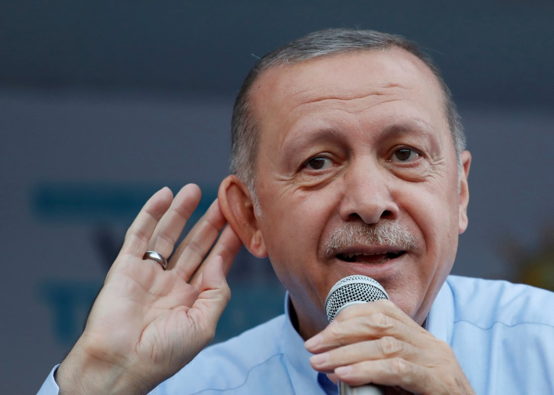 Turkey's president threatens boycott of iPhones, other United States electronics