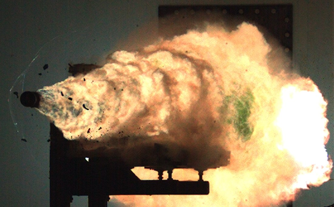 navy railgun tests to blow the top off a mountain the national