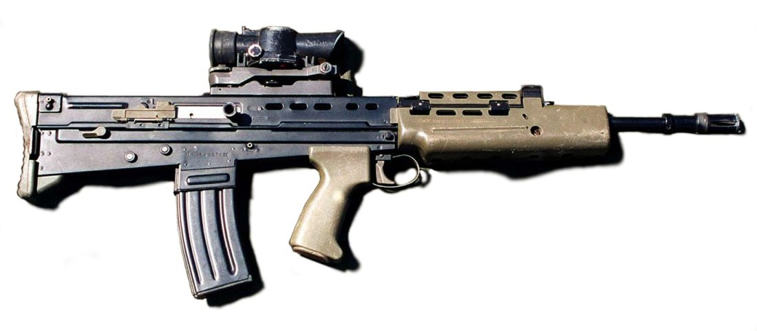 meet the l85a1 rifle short as a submachine gun with the performance