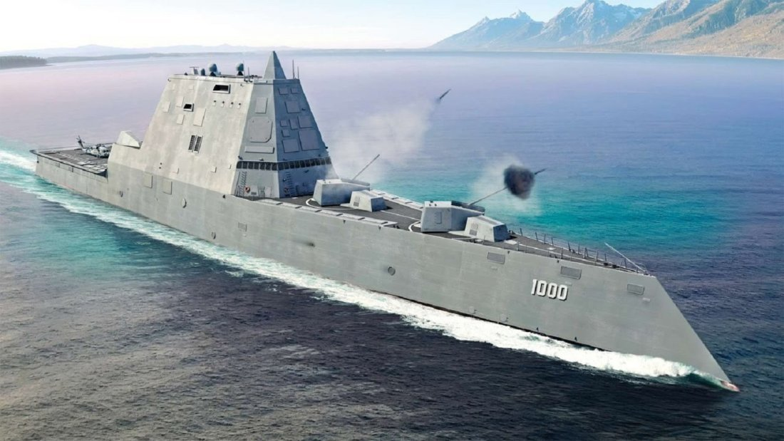 f2260c5fd4c U.S. Navy Stealth Destroyers Will Soon Be Armed with Laser Weapons ...