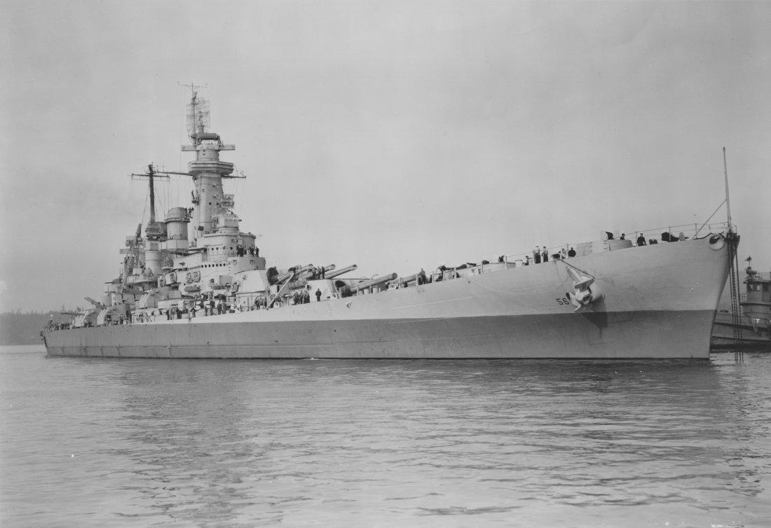 Why Japans Navy Feared The Battleship Uss Washington The National