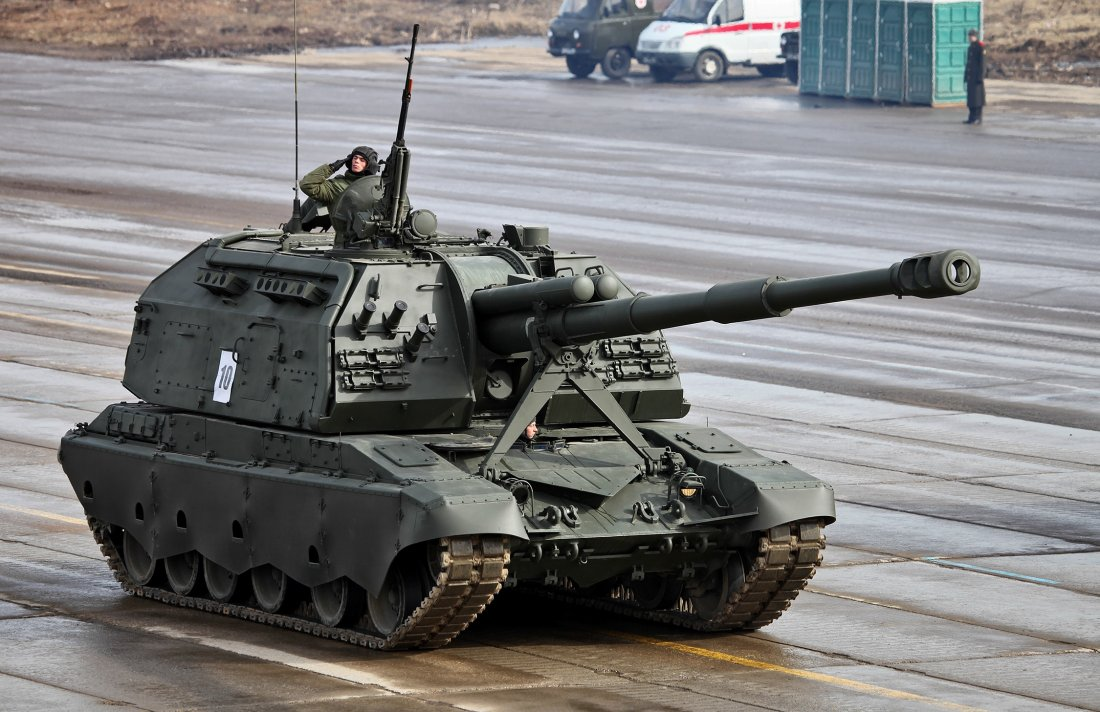 The main guns of the Russian army 67