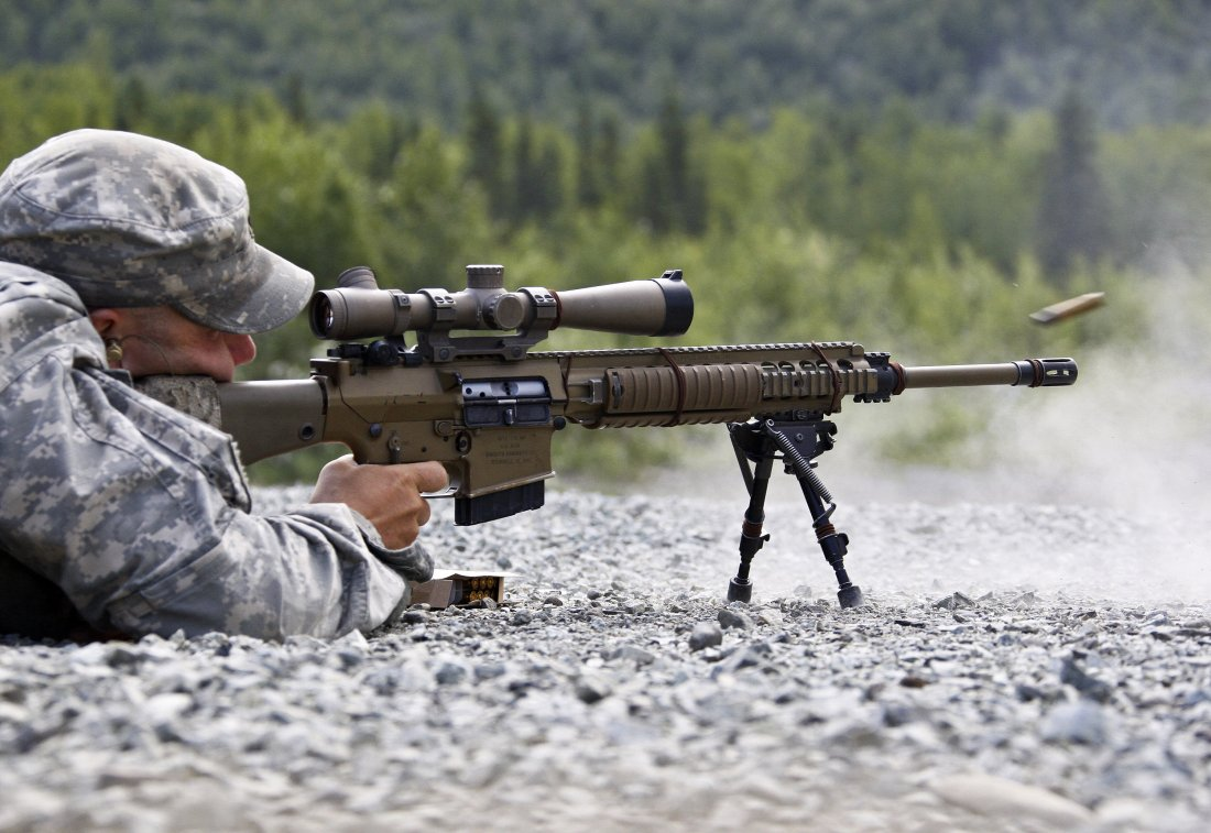The US Army Has A Deadly New Sniper Rifle