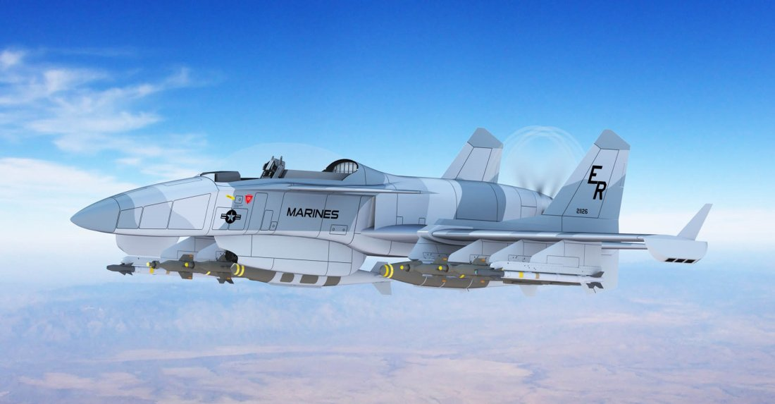 The Machete The Super Plane That Could Replace The A 10 Warthog Or