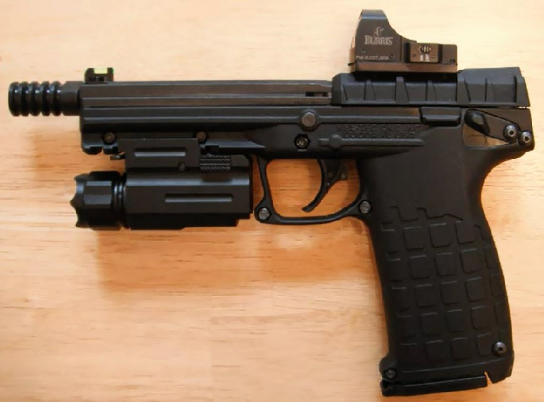 Black Kel-Tec PMR-30 Gun | The Best Handguns For Home Defense