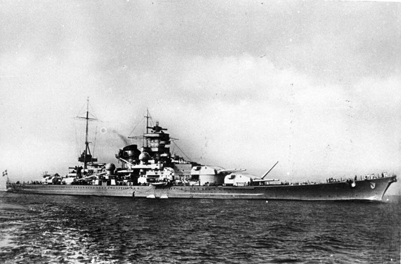 Scharnhorst Nazi Germanys Super Battleship Or Paper Tiger The