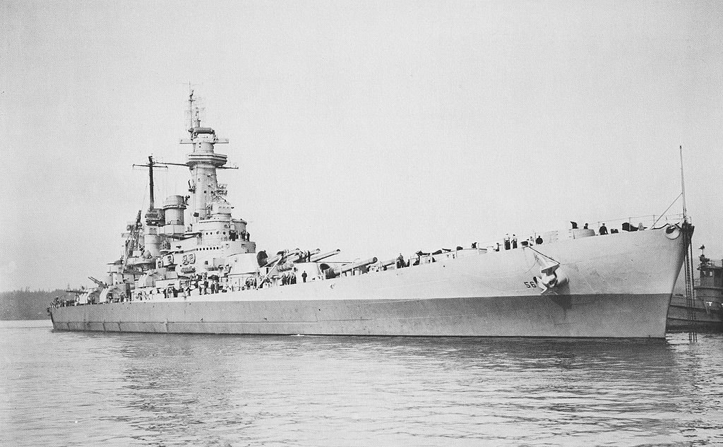 Why Japan Feared The Battleship Uss Washington The National Interest