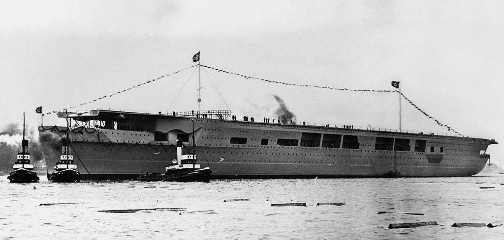Graf Zeppelin Nazi Germanys Forgotten Aircraft Carrier The