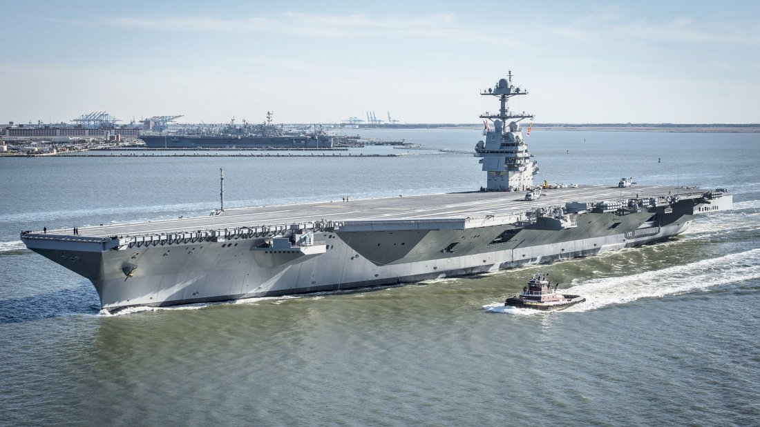 США заказали 2 новых атомных авианосца