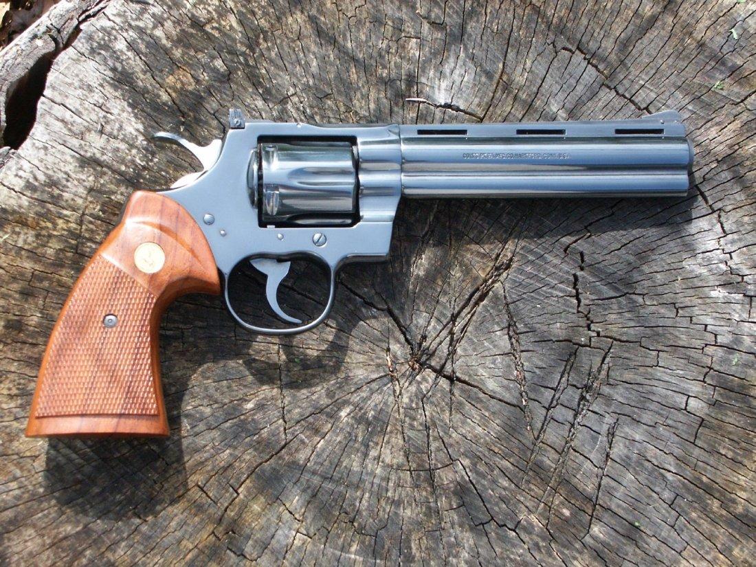 The Colt Python Best Revolver Ever Made