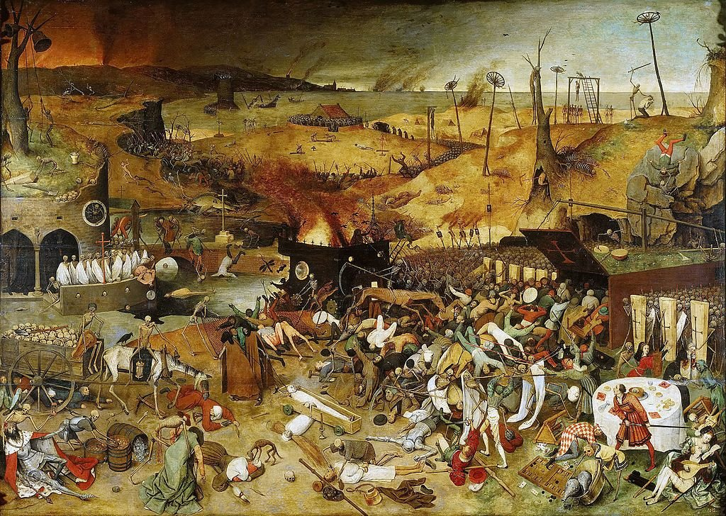 this is the end of the world the black death