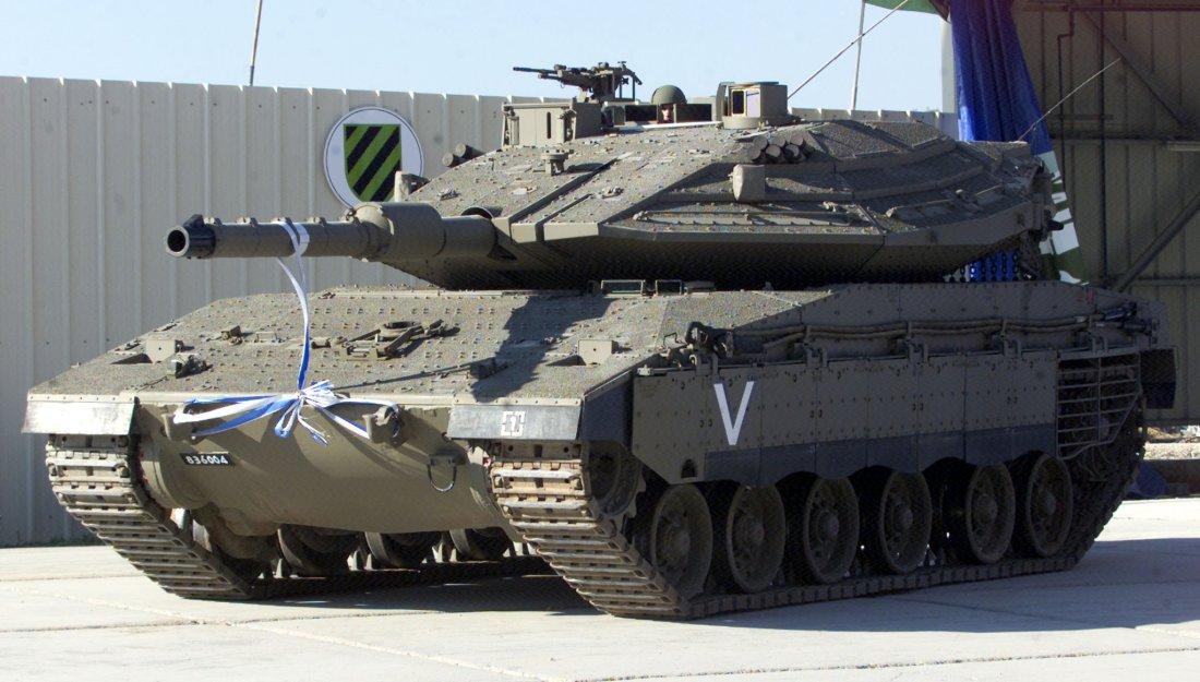 Israeli tank Merkava-4: characteristics, photo 90
