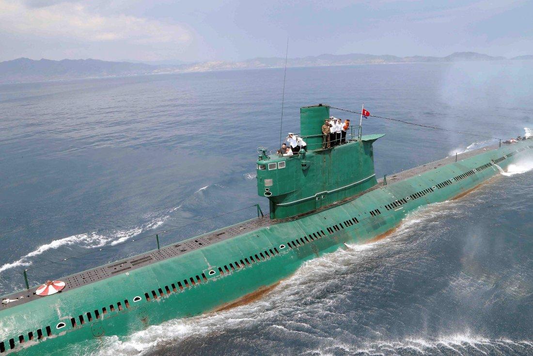 North korean midget subs pics 554
