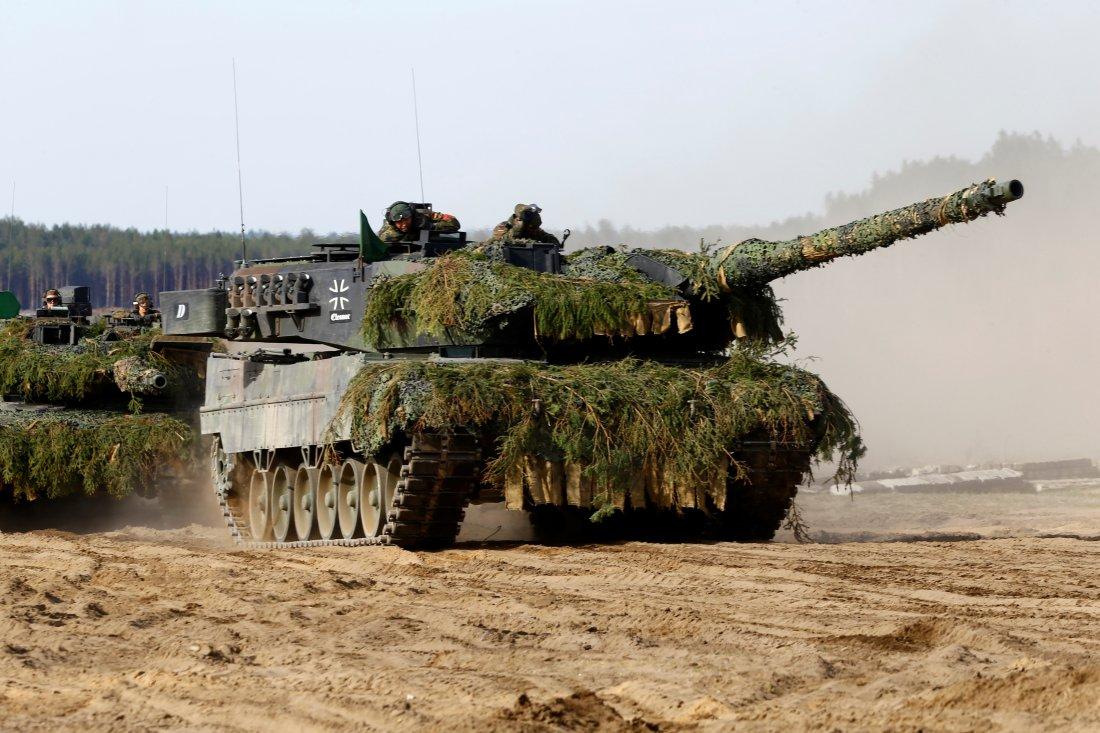 Leopard 2 Syrien