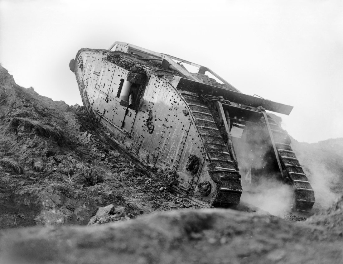 How 476 Tanks Attacking In A Massive Assault During World War I Battle Story Cambrai 1917 Changed Forever