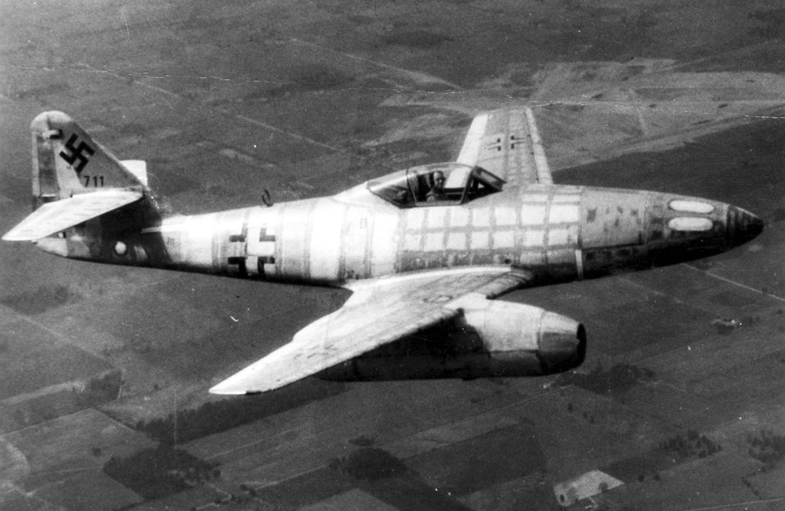 Image result for German Messerschmitt me262  jet with Rockets
