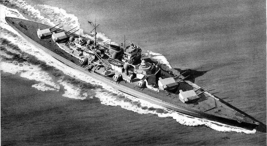 Nazi Germanys Terrifying Plan Z Build The Ultimate Battleship