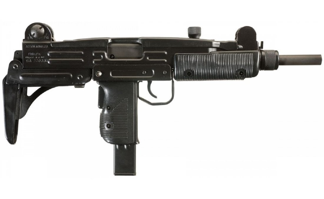 Domestic small arms - from pistols to machine guns
