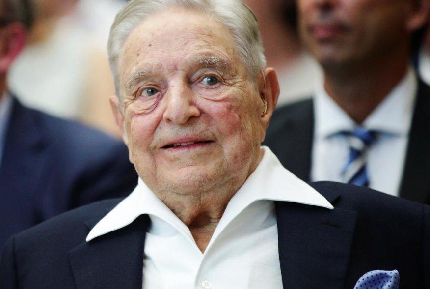 Billionaire investor George Soros attends the Schumpeter Award in Vienna, Austria June 21, 2019. REUTERS/Lisi Niesner