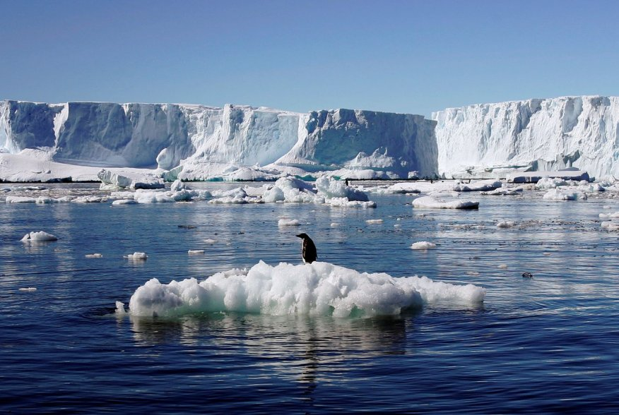 Ice shelves surrounding the Antarctic coastline retreated at speeds of up to 50 meters (164 feet) per day at the end of the last Ice Age—nearly 10 times faster than the satellite-observed melting rates of today.  The study, which was published in the jour