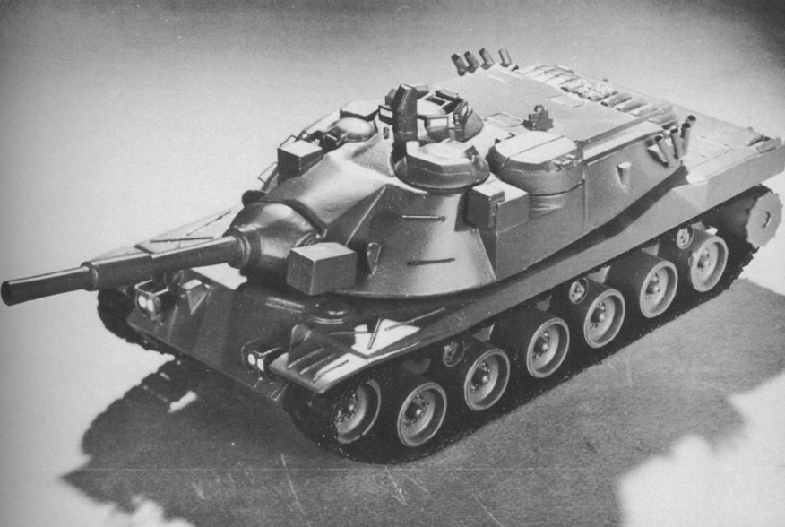 By US Army - R.P.Hunnicutt. Abrams. A history of American main battle tank Vol.2. — Presidio Press, 1990. ISBN0-89141-388-X, Public Domain, https://commons.wikimedia.org/w/index.php?curid=3591709