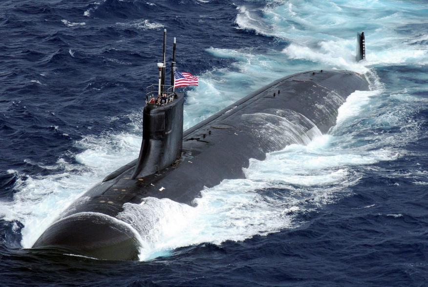 U.S. Navy photo by Mass Communication Specialist Seaman Adam K. Thomas [Public domain]