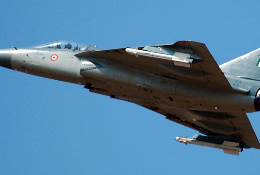 Image: HAL Tejas at Aero India 2009. 9 February 2009. Wikimedia/Rahuldevnath. Creative CommonsAttribution 3.0 Unportedlicense.