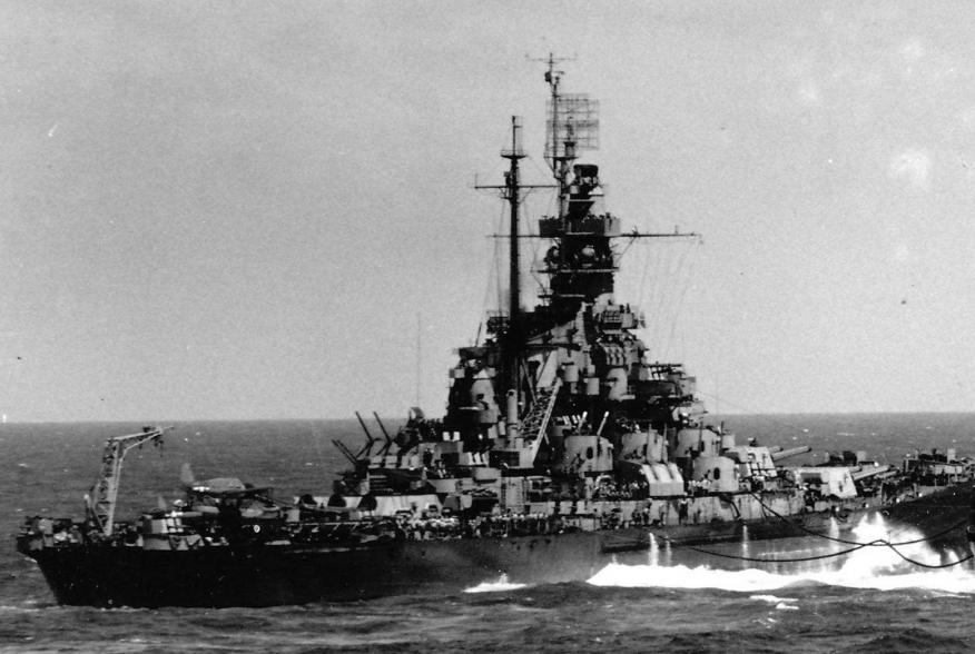 By USN (photographed from USS Hornet (CV-12)) - Official U.S. Navy photo [1] available at Navsource.org, Public Domain, https://commons.wikimedia.org/w/index.php?curid=25364911